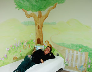 Peter Rabbit babykamer