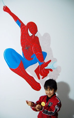 spiderman-kinderkamer