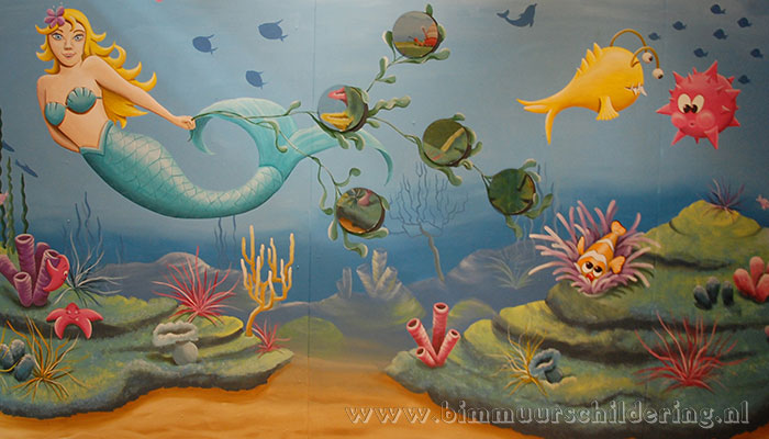 vissen koraal onderwater wereld
