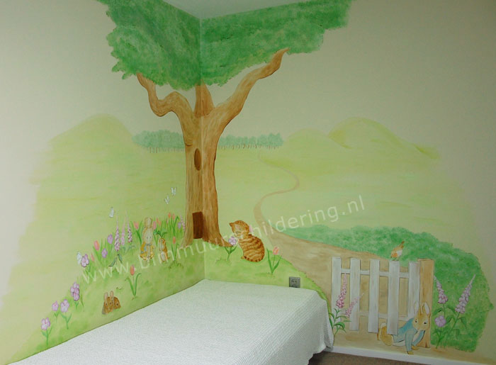 Peter Rabbit - Beatrix Potter babykamer