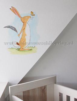 Hazeltje muurschilderingen in de kinderkamer - Jongetje kamer idee ...