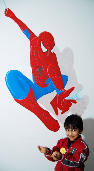 spiderman-jongenskamer
