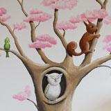 Bloesemboom dieren
