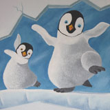 Happy Feet babykamer