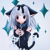manga anime muurtekening