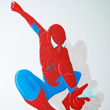 Spiderman jongenskamer