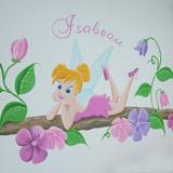 Tinkerbell Disney meisjeskamer