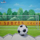 voetbal stoere jongens kinderkamer