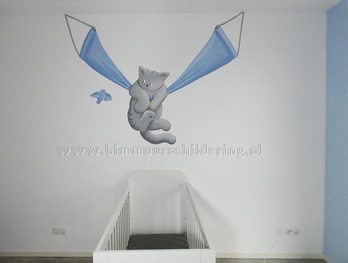 Decoratie Kinderkamer Meisje.Dikkie Dik Kinderkamer Decoratie Muurschildering