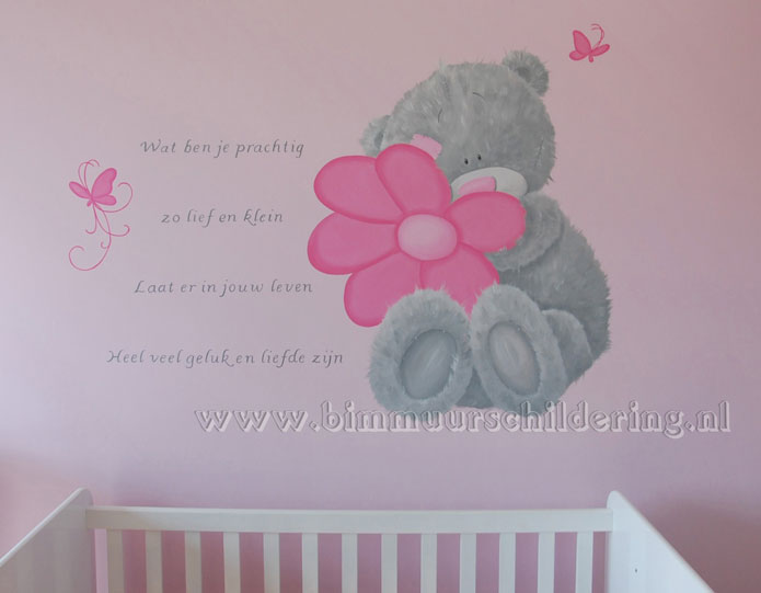 babykamer me to you meisje