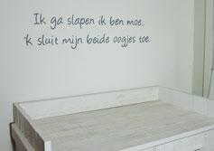 Babykamer Tekst Op Muur – cartoonbox.info