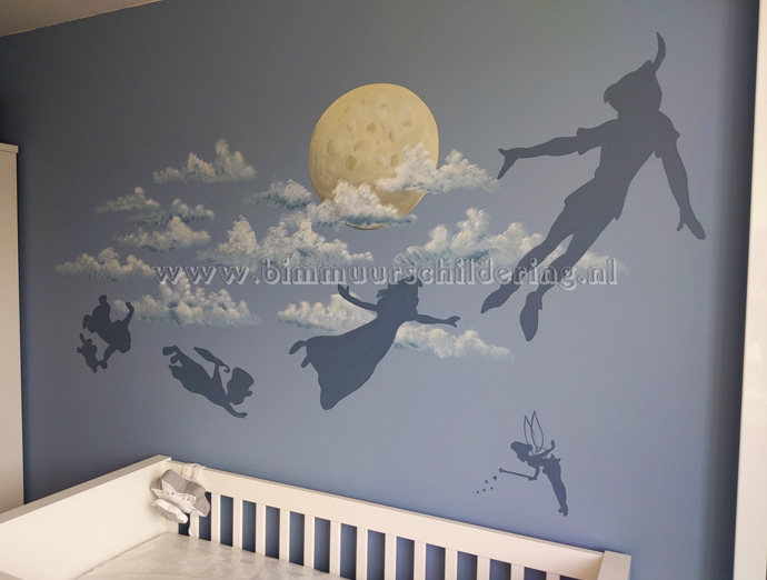 peter pan kinderkamer